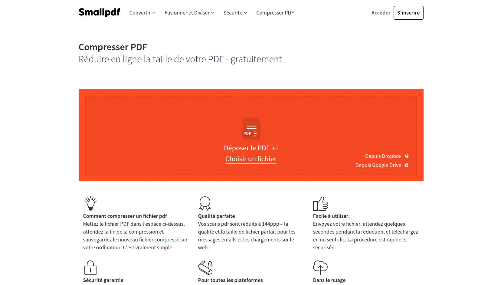 [-1]Compresser un fichier PDF