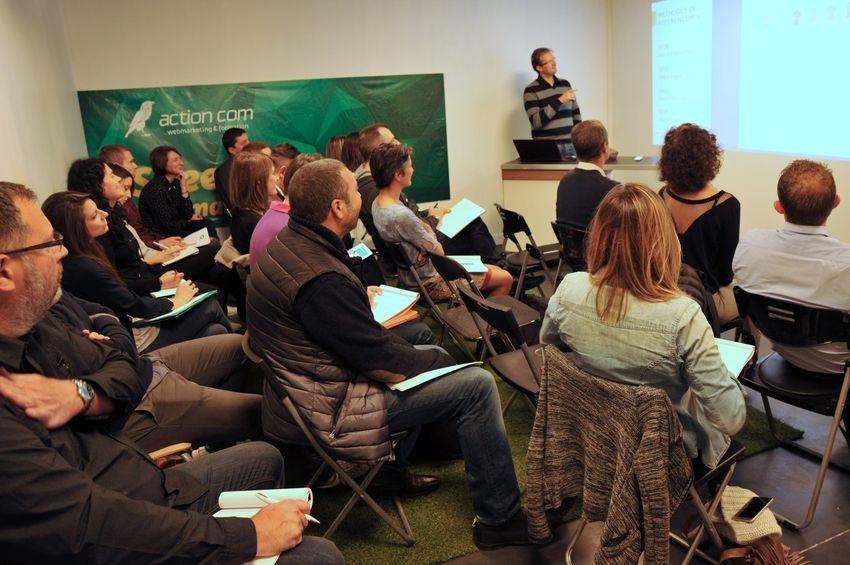 #CaféCours du 27 octobre Atelier webmarketing sur le référencement naturel