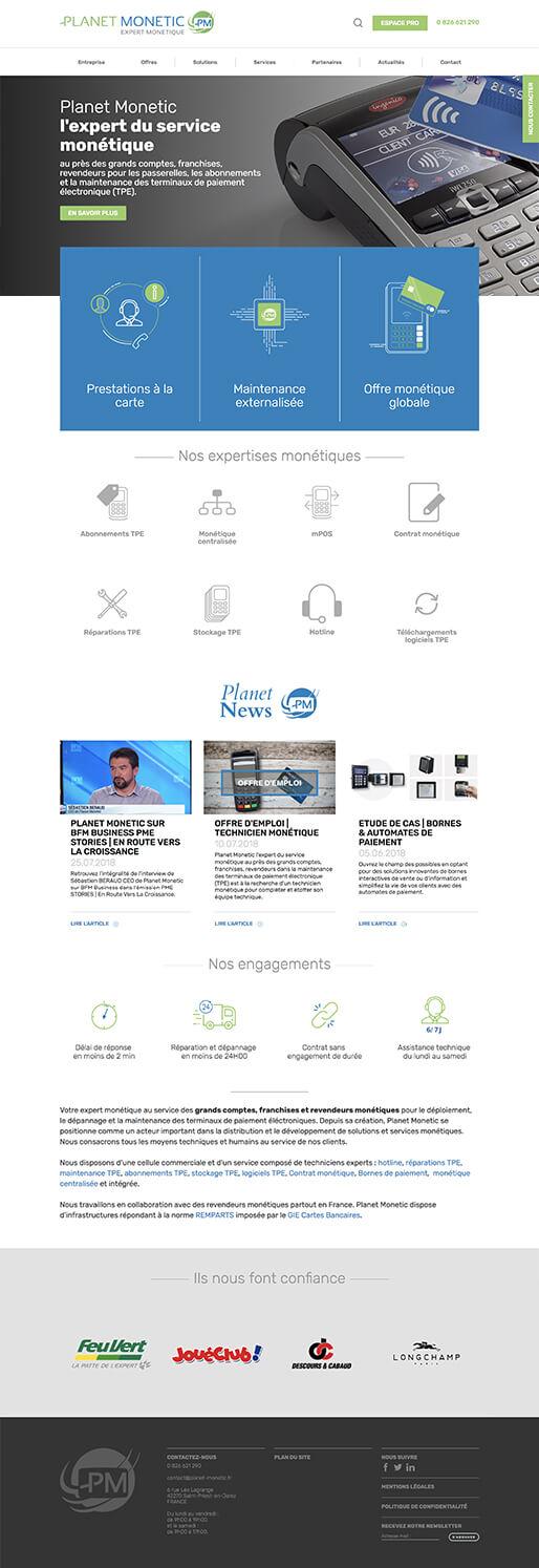 Développement web design